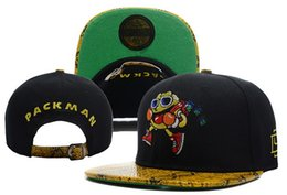 Wholesale D9 Reserve Packman Snakeskin leaf Rolling Leopard Strapback caps topquality men and women sports colours good design nice look cheap