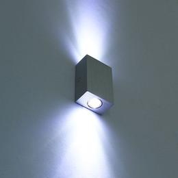 2017 énergie ups Moderne 6w (2 * 3w) Lampe murale à LED Applique murale design Applique murale design moderne Up / Down AC85-265V Lampe d'éclairage à économie d'énergie intérieure énergie ups offres