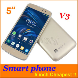 Wholesale Chespest inch Android smart phone SC6820 Dual SIM Camera wifi GSM Unlocked mb H Mobile Colors V3 Mobile DHL