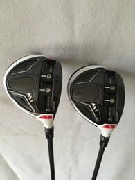 Wholesale 2PCS Golf M1 Fairway woods Graphite shaft Regular Stiff Golf clubs M1 Fairway woods high quality