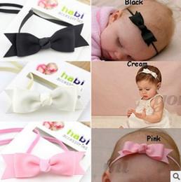 2018 New Fishtail Bow Headband Headwear Kids Hair Accessories For Baby Girls Baby Girl Headband Newborn Headbands Baptism Hair Bows