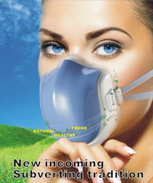 Wholesale power driven respirator purifier high efficiency four chip filter filtration system filter air remove haze dispel peculiar smell removesmoke
