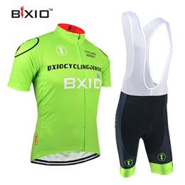 BXIO Brand Pro Cycling Jerseys 2016 The Summer Green Fashion Bike Wear Cheap Cycle Clothing Ropa Ciclismo Hombre Verano For BX-0209G011