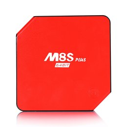 Android 5.1 Smart TV Box M8S Plus M8s+ Set Top Box Amlogic S905 2G 16G Build-in WiFi Bluetooth 4.0 M8S M8s+