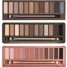 Wholesale Hot sale Best Makeup Eye Shadow color eyeshadow palette NUDE via Epacket