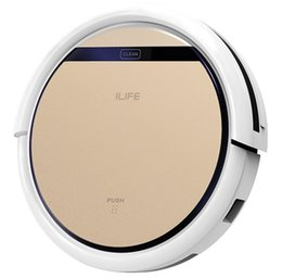 Wholesale Ilife V5S Intelligent Robotic Vacuum Cleaner ROSE GOLD Smart Remote Control in Dry Wet Sweeping Robot