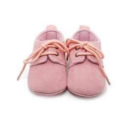 Wholesale Solid Cotton Baby S First Walkers Handmade High Quality Baby Shoes For Years Old