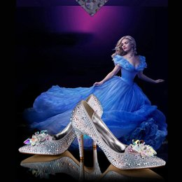 Wholesale cinderella wedding shoes grey burgundy sparkly bridal shoes bridesmaid shoes for wedding prom evening shoes