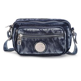 Wholesale Fashion women jeans cloth waist pack designer high quality material causal ladies small messenge bags for shopping sac femme