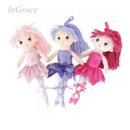 Wholesale factory direct super beautiful ballerina dolls colors sparkling ballerina doll for girls CM stuffed cute dance girls doll