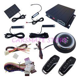 Smart PKE coche antirrobo dispositivo de entrada de contraseñas y arranque botón de parada Motor, Inicio de control remoto, Auto ventana de energía Cerrar, RFID Alarma de coche desde dispositivos anti-robo de coches fabricantes