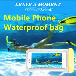 Wholesale Cartoon Mobile Phone Waterproof Bag Multifunctional Drifting Swimming Picture PVC Protective Mobile Phone Dry Bag For Of The Mobilephone