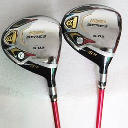 Wholesale New womens Golf Clubs HONMA S Golf Fairway wood Graphite Golf shafts Golf headcovers Wood clubs