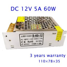 Wholesale LED Strip DC V A W Switching Power Supply Light Display AC LED PSUs Metal Case W Etc