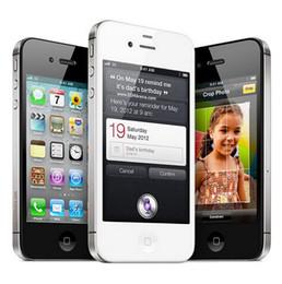 100% Original Unlocked Apple iPhone 4S IOS 1080P Dual Core 8MP WIFI WCDMA refurbished Mobile phone