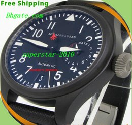 Wholesale NEW Top Quality Luxury Watches Factory Supplier Sapphire Power Big Pilot Day Day Black automatic Men s Watch