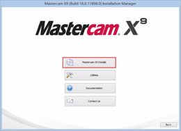 Wholesale Mastercam X9 v18 English for bit by email in hours