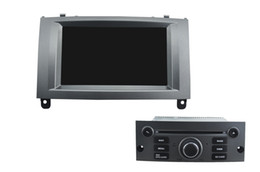 Consola gris en venta-Para el jugador digital del coche DVD GPS de Peugeot 407 HD TFT, con la TV, radio, bluetooth, iPod,