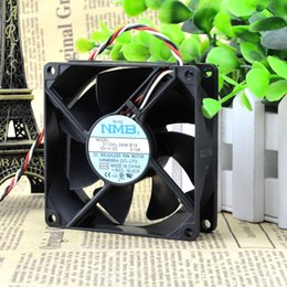 Wholesale F Free Delivery NMB CM MM A ultra quiet double ball bearing fan computer chassis KL W B19