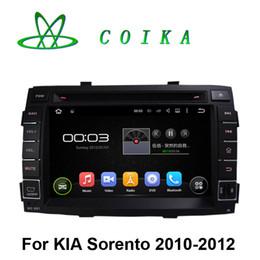 Quad Core Android 5.1.1 System Auto Stereo Car DVD For Kia Sorento 2010 2011 2012 GPS Navi Radio RDS BT Phonebook WIFI 3G 1024*600 Screen