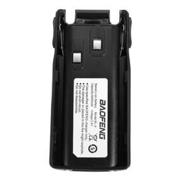 Deux radios bidirectionnelles vente en Ligne-Hot vente de super capacité 7.4V pratique 3000mah BaoFeng UV-82 Series Marque Batterie Two Way Radio Walkie Talkie US UK Plug UE