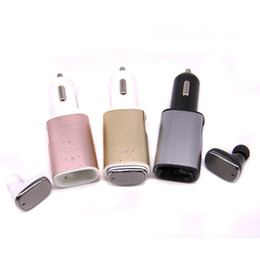 Wholesale Best selling Quick Charging Bluetooth Car charger MP3 Speaker In car Car Kit Speakerphone speaker for iphone