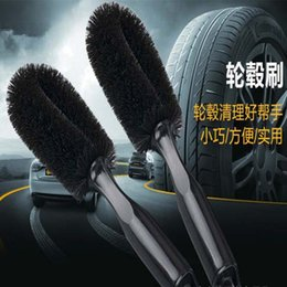 Wholesale 2016 new design Automotive steel rim brush wheel brush automobile tires wash tools products Clean the flat tire brush
