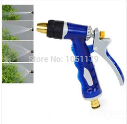 Wholesale High Pressure Water Spray Nozzle For Car Wash Garden Watering Multi Function Application Gold Helper