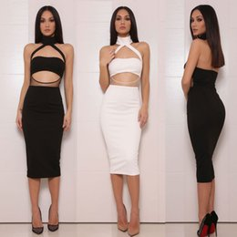 2 Pcs Set 2016 New Fashion Women and Big Girl Party Sling Sexy Package hip Dresses Women Bandage Good Quality Outfits Dress