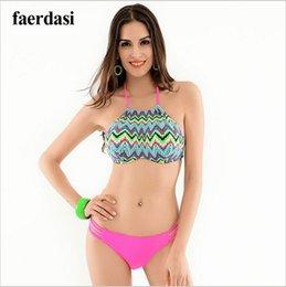 Sexy Brazilian Bikini 2016 Swimwear women's swimming suit Strappy Padded Push Up Bikinis Top Women biquini Hollow waist Swimsuit
