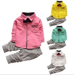 Camisas novas do partido à venda-2016 novos Meninos Túnica Camisa, o terno do laço cavalheiro menino para o vestido de festa, 4pcs / lot frete grátis