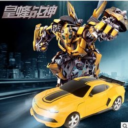 Wholesale 2016 Christmas Gift Transformer Toy Models Changeable Machine For Child New Remote Control Smart Toy with retail package