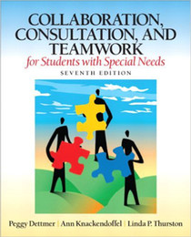 Collaboration, Consultation, and Teamwork 7th Edition(978-0132659673) hot books student's hot seller books 10pcs
