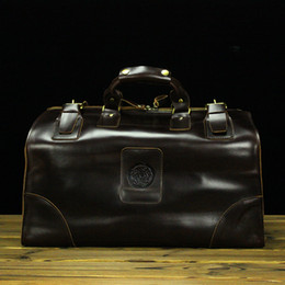 Wholesale Men s Classic Cow Leather dragon design Shoulder Attache business Laptop Bag Tote Lage Travel Duffel Boarding Bag huge