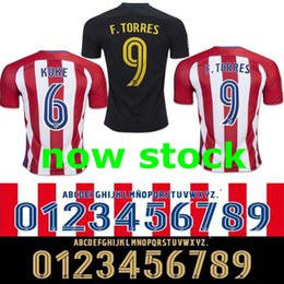 Wholesale Free ship TOP BEST PLAYER VERSION NEW Atletico madrid home away SAUL F TORRES SIMEONE BROOKS BOWERS COATES GAZY JERSEY