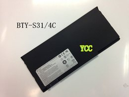 Wholesale New Original genuine BTY S31 battery For MSI quot X Slim X320 US X340 US X340 US BTY S31 BTY S32