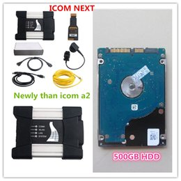 Wholesale Hot selling For BMW ICOM NEXT A B C New Generation ICOM A2 with gb HDD Rheigold ista d p software expert mode