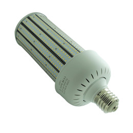 120W E39 E40 Mogul Base LED Corn Lamp With Transparent PC Cover LED Retrofit High Bay Light 5 Years Warranty UL Listed