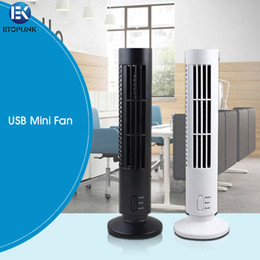 Wholesale Portable USB Mini Bladeless No Leaf Air Conditioner Cooling Tower Fan