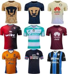 Wholesale 2016 Mexico clud Tigres UANL Chivas Guadalajara Atlas soccer jerseys America Mexico Cougar Santos Cruz Azul Queretaro football shirt