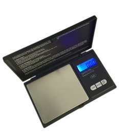 Wholesale 100g g Mini LCD Electronic Pocket Scale Stainless Steel Portable Jewelry Gold Diamond Weighting Balance Scales