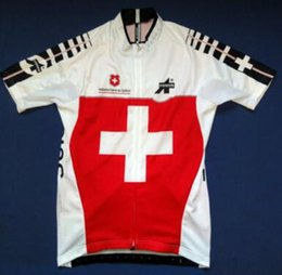 Wholesale ASSOS of Switzerland Men Cycling Jersey Ropa Ciclismo Quick Dry Swiss MTB Road Bicycle Jerseys Ride Sport Bike Clothing XS XL