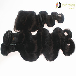 100% Mongolian Hair Bundles 3Pcs Same Length Hair Weave With 1pc Closure Body Wave Natural Color Unprocessed 8A Human Hair Weft Extension