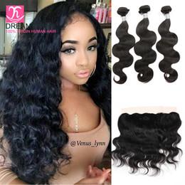 grade 8a virgin hair brazilian body wave hair bundles lace frontal closure 13x4 lace frontal closure bundles virgin hair with lace frontals
