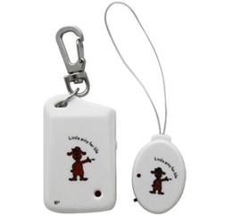 2017 dispositivo de niño perdido Portátil perdido anti-Electronic alarma de la seguridad llavero Buscador de recordatorio del localizador de dispositivos personales inalámbricos Guardia de equipaje para niños Kids mascotas dispositivo de niño perdido promoción