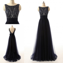 Mother Of The Bride Dresses Blace Evening Beaded Sequin Dress Backless Sexy Design Cheap Price Sexy Beautiful 2018 High Quality Formal Wear