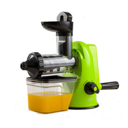 Wholesale Baby hand Juicer juice machine manual of fruit and vegetable juice factory