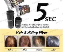 Wholesale Perte de cheveux Produits Correcteur Keratin Building Fibres Cheveux Noir Dark Medium Light Brown Natural G Poudres Spray colors