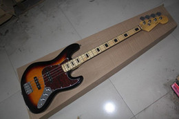Wholesale top quality factory custom New Arrival F strings bass guitar jazz Electric bass Guitar