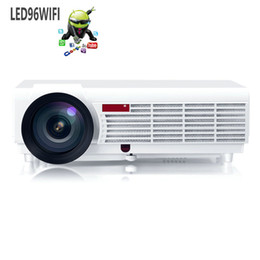 Wholesale Best LED Home Cinema Android WiFi Projector with lumens Brightness Smart Multimedia LCD Video Games HDMI Proyector
